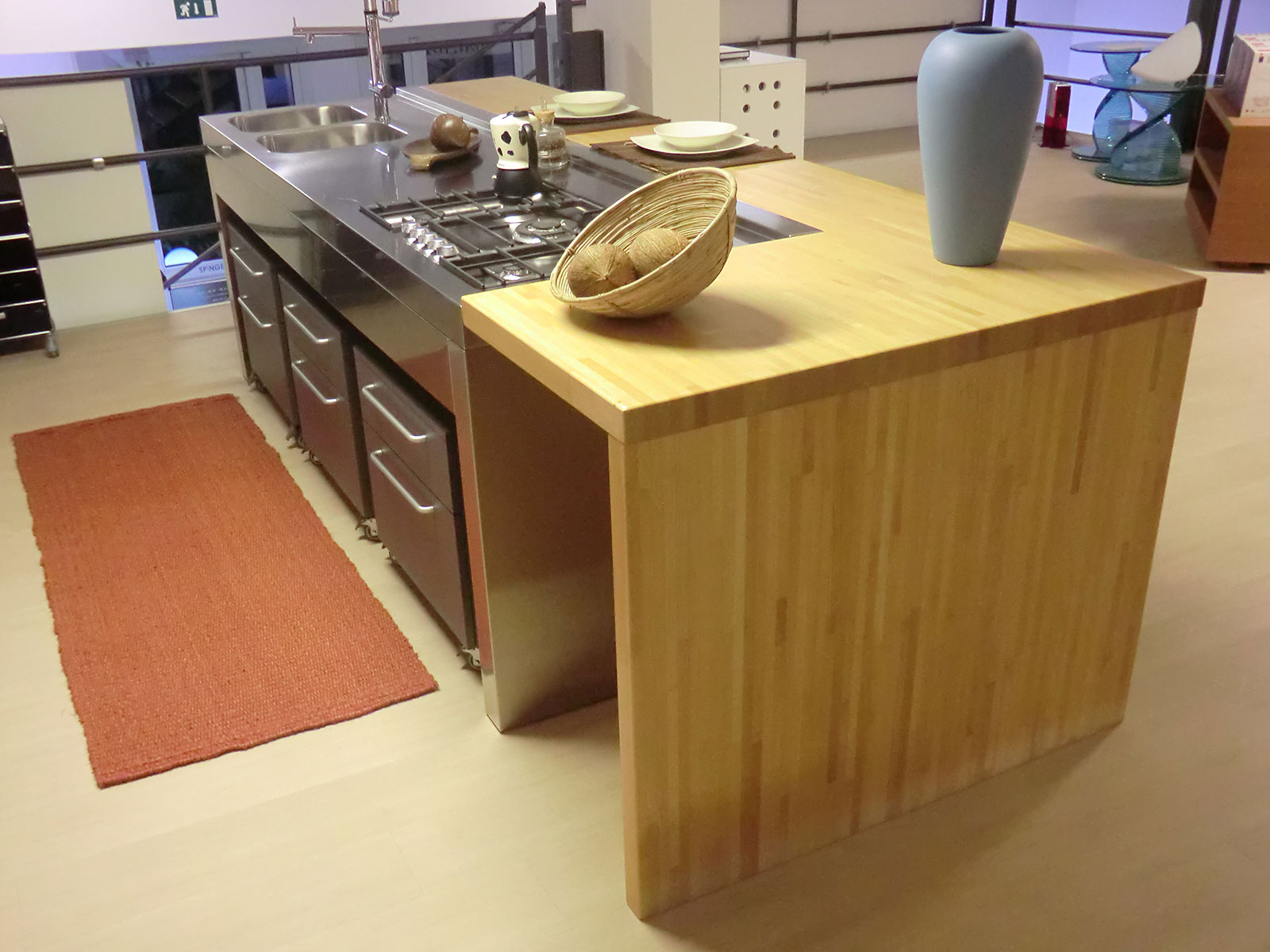 bancone cucina isola arredamenti outlet