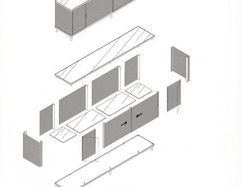 mobile contenitore YCAMI modello PAC